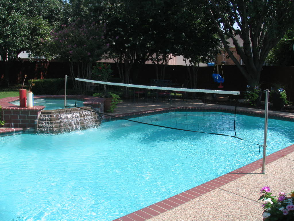Commercial Grade Pool Volleyball Sets And Volleyball Nets Available In Different Sizes To Fit
